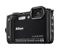 Coolpix W300 Digital Camera Schwarz(16 MP, 5x Optical Zoom/7.6 cm (3 Zoll) LCD Display, 4 K UHD Video, bildstabilisiert)