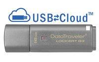 DataTraveler Locker+ G3 USB-Stick 16 GB aluminium