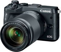Systemkamera EOS M6 inkl. EF-M 18-150mm 24.2 Mio. Pixel Schwarz WiFi, Bluetooth, Full HD Video