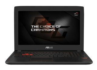 ROG GL502VM-FY035T 39,6 cm (15,6 Zoll mattes FHD) Gaming Notebook (Intel Core i7-6700HQ, 8GB, 1TB HDD, 256GB SSD, Nvidia GeForce GTX1060 6GB VRAM, Win 10) schwarz