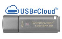 DataTraveler Locker+ G3 USB-Stick 8 GB aluminium