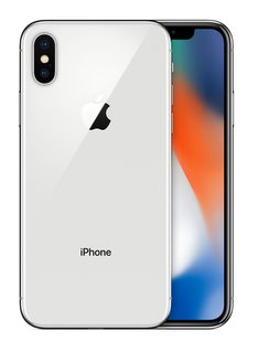 iPhone X - 64GB - silber