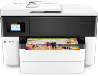 HP Officejet Pro 7740 All-in-One - Multifunktionsdrucker - Farbe - Tintenstrahl - Legal (216 x 356 mm) (Original) - bis zu 33 Seiten/Min. (Kopieren) - bis zu 34 Seiten/Min. (Drucken) - 250 Blatt - 33.6 Kbps - USB 2.0, LAN, Wi-Fi(n), USB-Host