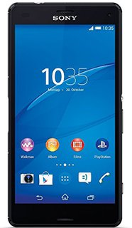 Xperia Z3 Compact Smartphone (4,6 Zoll (11,7 cm) Touch-Display, 16 GB Speicher, Android 4.4) schwarz
